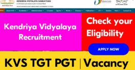 KVS TGT PGT Recruitment 2020-21 | Notification | Vacancy