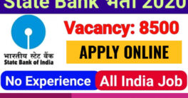 SBI apprentice recruitment 2020